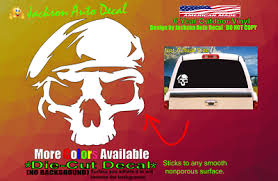 Army Ranger Skull Military Veteran Pride Car Window Vinyl Decal Bumper Sticker Ebay