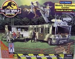 The Lost World Jurassic Park Electronic Mobile Command Center Trailer Playset Site B Scott M Jefferseas