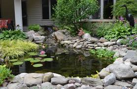 water features ponds waterfalls t o