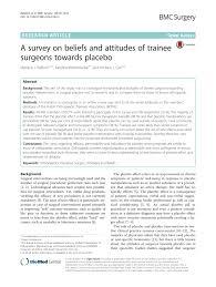 pdf a survey on beliefs and atudes