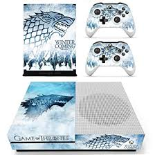 Amazon Com Vanknight Vinyl Decal Skin Stickers Cover For Xbox One S Slim Console 2 Controllers Video Games