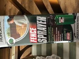Ronseal Fence Sprayer Brand New Unopened Packaging In Stonehouse South Lanarkshire Gumtree