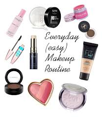 everyday simple makeup routine