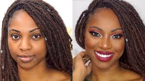makeup transformation full glam