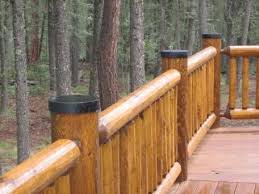 Log Post End Caps By Luxury Metals Wood Fence Post Wooden Fence Posts Steel Fence Posts