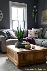 fall decor ideas for the family room