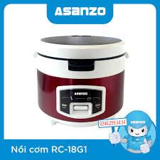 Nồi Cơm Điện Asanzo RC-18G1 chính hãng, giá rẻ - ASANZO Hà Nội