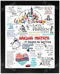 famous disney quotes christmas present gift lion king toy story