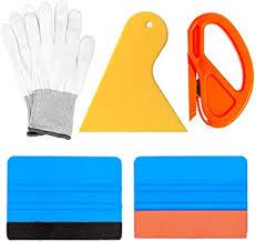 Amazon Com Gugugi Vinyl Wrap Application Tool Kit Window Film Tint Kit Decal Applicator With Vinyl Knife Scraper Felt Edge Squeegee Knit Work Gloves For Vinyl Wrap Decals Sticker Installation Wall Paint Automotive