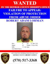 WANTED: ROBERT LOHMAN The Monroe County... - Monroe County Sheriff's Office  - Pennsylvania   Facebook