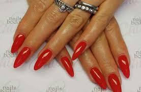 nails acrylic short almond summer