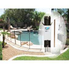Shop 4 X 12 Feet Pool Fence By Pool Fence Diy Overstock 12301210