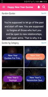 happy new year quotes for android apk