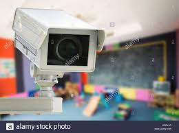 3d Rendering Cctv Camera Or Security Camera On Kids Room Background Stock Photo Alamy