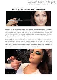 airbrush makeup powerpoint presentation