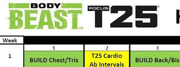 body beast focus t25 hybrid john t
