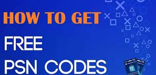 free psn codes 2020 working generator