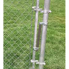 Amazon Com Self Closing Gate Closer Automatic Gate Closer Adjustable Closing Tension This Sta Klos Gate Closer Works Great For Any Chainlink Gate Up To 4 Foot Wide Silver Home Improvement