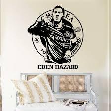 Eden Hazard Chelsea Football Vinyl Wall Art Decal