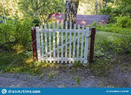 Close Up View Of Freestanding Old Wooden Gate Without Fence Funny Backgrounds Stock Image Image Of Countryside Fence 187448845