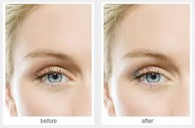 blue eyes mascara eye shadow
