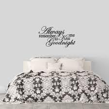 Winston Porter Palos Kiss Me Goodnight Wall Decal Wayfair