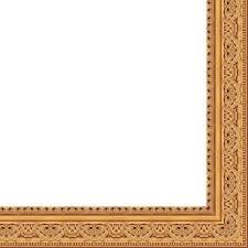 x 12 antique gold solid wood frame