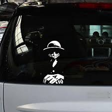 One Piece Car Stickers Decal 19 9cm One Piece Merchandise Free Shipping Worldwide