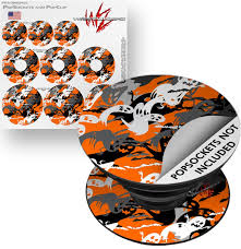 Decal Style Vinyl Skin Wrap 3 Pack For Popsockets Halloween Ghosts Popsocket Not Included By Wraptorskinz Walmart Com Walmart Com