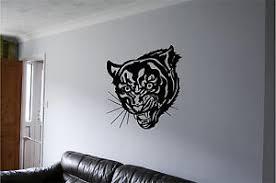 Tiger Wall Sticker Wall Art Vinyl Decals Wall Decor Wall Stickers Mural Tigers Ebay