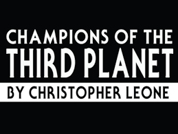 Read an Excerpt from the Space Opera CHAMPIONS OF THE THIRD PLANET ...