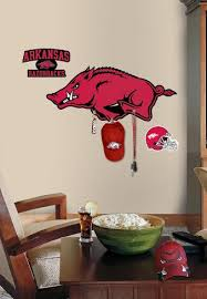 Univ Of Arkansas Peel Stick Giant Wall Decal W Hooks Wall Decal Allposters Com