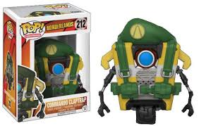 Borderlands Funko Pop Games Commando Claptrap Vinyl Figure Walmart Com Walmart Com