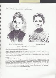 Effie Tolar Egerton (Burroughs) (1867 - 1955) - Genealogy
