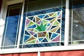 paint stained glass windows at home art
