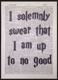 harry potter quote vintage dictionary page wall picture print up