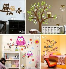 Owl Wall Decals Growing Your Baby