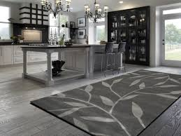 vineworx rug in a contemporary kitchen