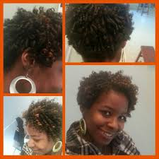 straw set on short bob naturalhair