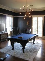 would like an all black pool table