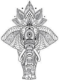 Animal Mandala Coloring Pages Animal Mandala Coloring Pages Best