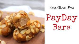 copycat payday candy bars keto gluten