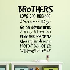 Winston Porter Brother Rules Wall Decal Wayfair