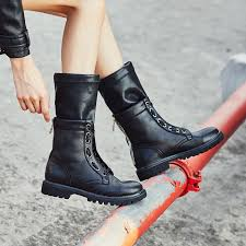 full grain leather winter boots women