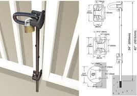American Fence Supply Co 24 Lockable Drop Rod