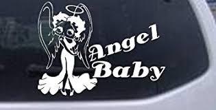 Amazon Com Betty Boop Angel Baby Cartoons Decal Sticker Die Cut Decal Bumper Sticker For Windows Cars Trucks Laptops Etc Automotive