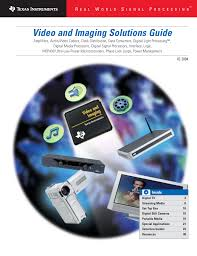 video and imaging solutions guide