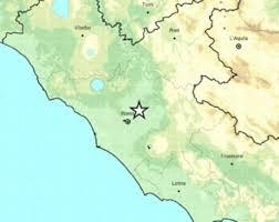 Terremoto Roma 11 maggio, scossa di magnitudo 3.3: alba di paura ...