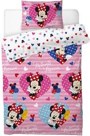 disney minnie mouse single duvet quilt