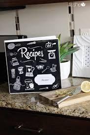 adorable diy recipe binder